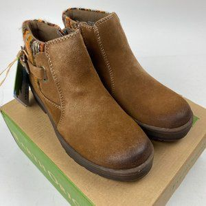 Earth Orgins Water Repellent Suede Ankle Boots